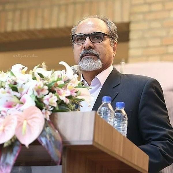 زندگینامه استاد علی شیرازی خطاط و نقاش خط + عکس شخصی