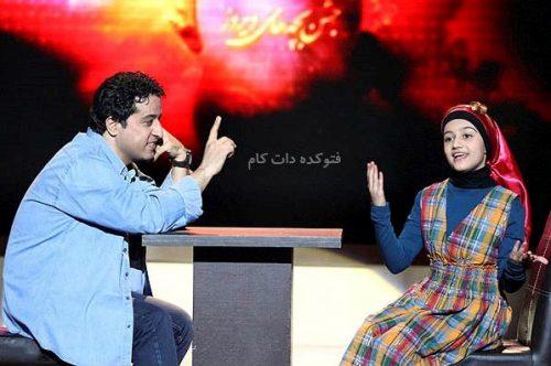 علی تفرشی و دخترش نوا