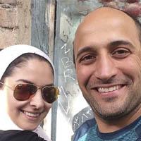 علی سرابی و همسرش مارال بنی آدم عکس و بیوگرافی