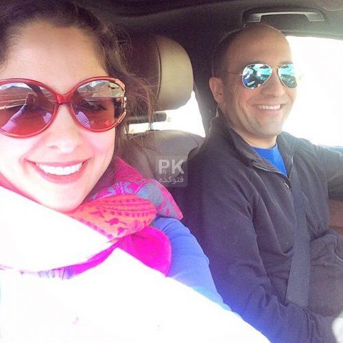 علی سرابی و همسرش مارال بنی آدم + بیوگرافی