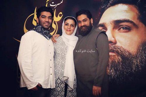 بیوگرافی علی زند وکیلی,عکس خانوادگی علی زند وکیلی