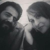 سلمان فرخنده و همسرش میترا + زندگی شخصی