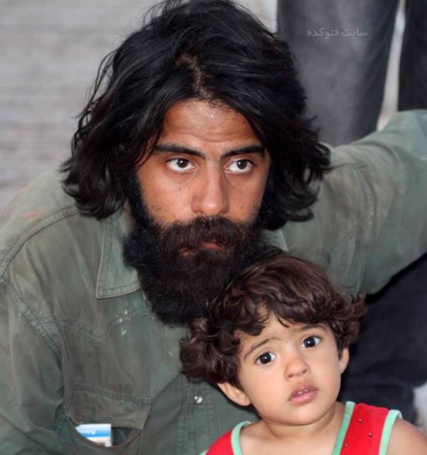 عکس های سلمان فرخنده بازیگر و پسرش