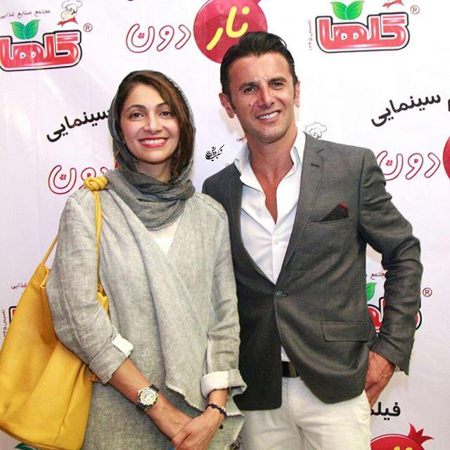 امین حیایی و همسرش نیلوفر خوش خلق + بیوگرافی کامل