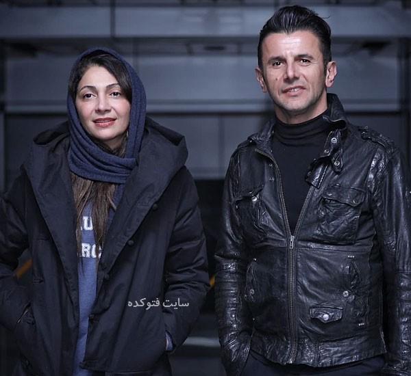 امین حیایی و همسرش نیلوفر خوش خلق