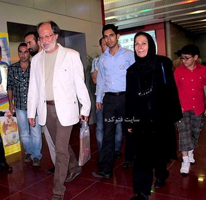 عکس امین تارخ و همسرش منصوره شادمنش + بیوگرافی کامل