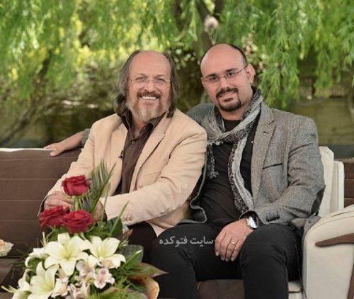 عکس و بیوگرافی کامل امین تارخ بازیگر و پسرش