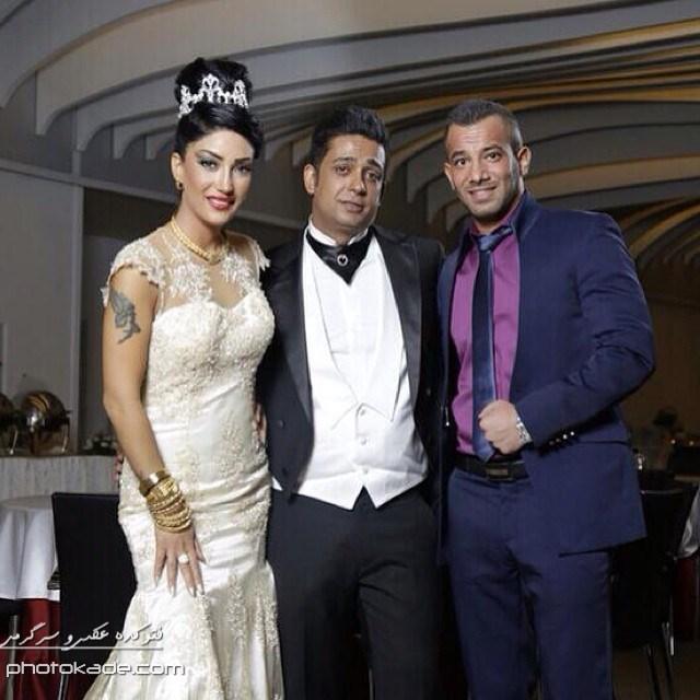 عکس های جدید امیر تتلو در عروسی داداشش