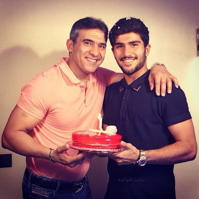 عکس امیر عابدزاده و پدرش احمدرضا عابدزاده + بیوگرافی کامل