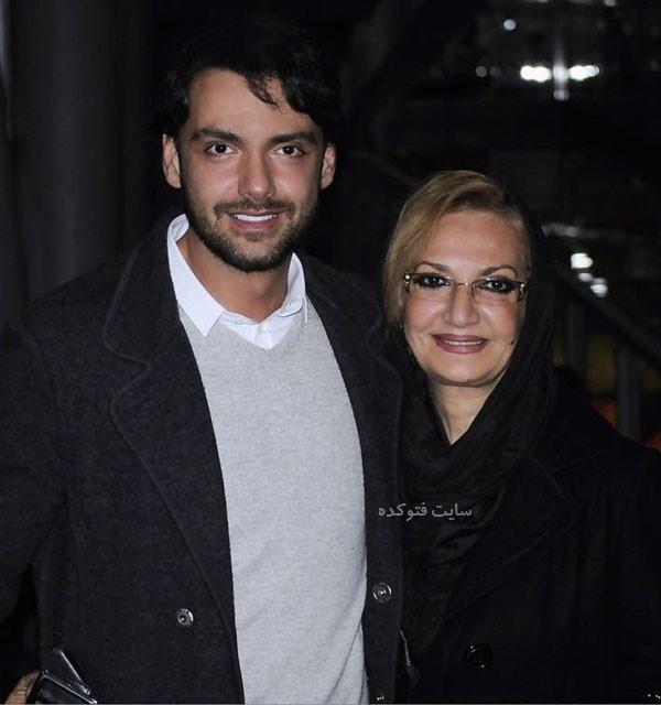 امیرعلی دانایی و مادرش + بیوگرافی کامل