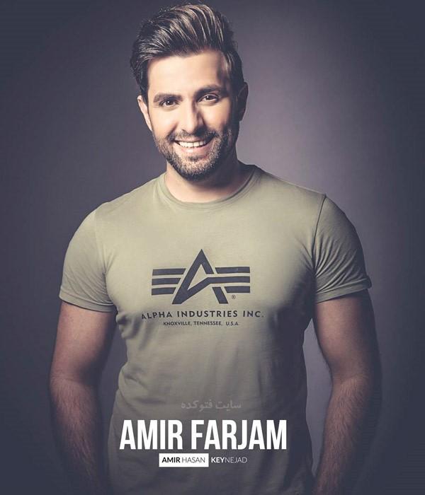 بیوگرافی امیر فرجام خواننده ایرانی و سوئدی