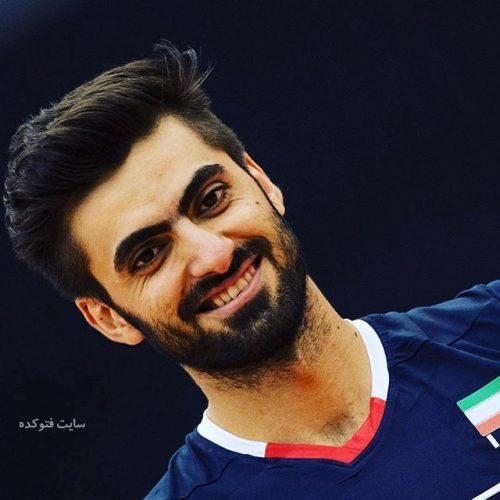 عکس امیر غفور بازیکن والیبال + زندگی و بیوگرافی کامل