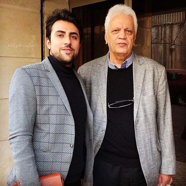 امیر حاج رضایی کارشناس فوتبال کیست + عکس و بیوگرافی