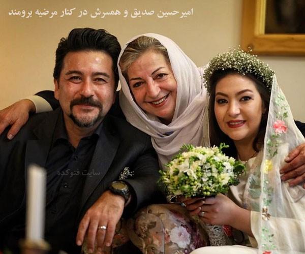 همسر امیرحسین صدیق باران خوش اندام کیست