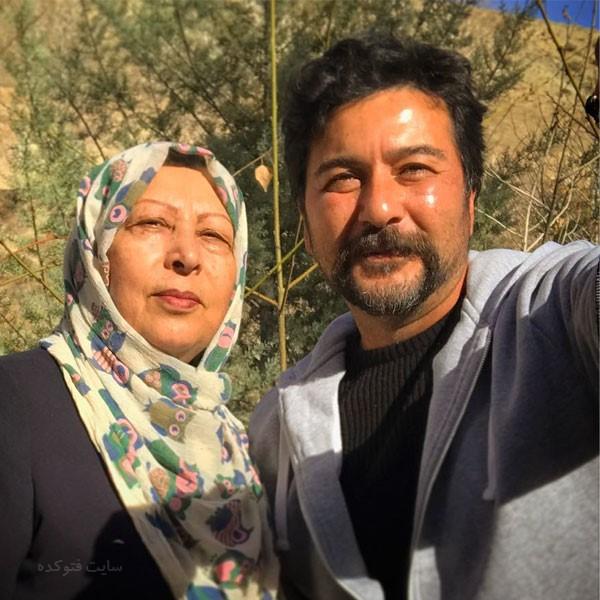 عکس های امیرحسین صدیق بازیگر و مادرش