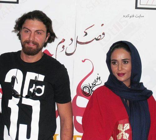 عکس امیرحسین فتحی و پریناز ایزدیار + بیوگرافی کامل