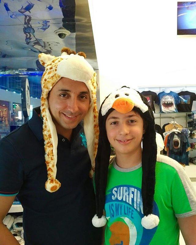 عکس امیرحسین رستمی و پسرش