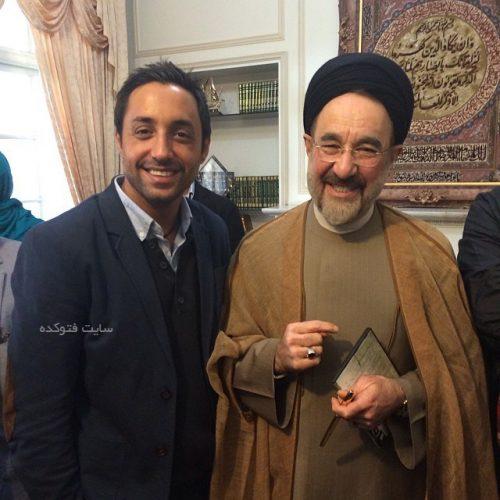 عکس امیرحسین رستمی و سید محمد خاتمی