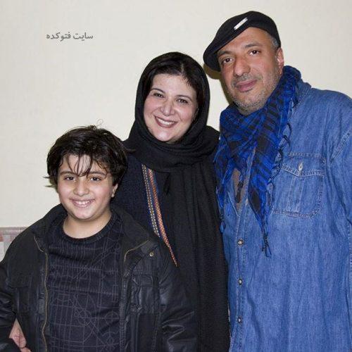 عکس خانوادگی امیر جعفری + بیوگرافی کامل