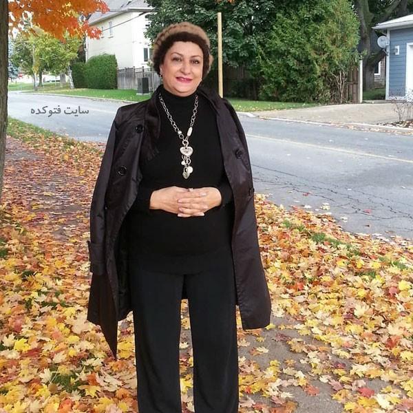 عکس مریم امیرجلالی در خارج از کشور با داستان زندگینامه