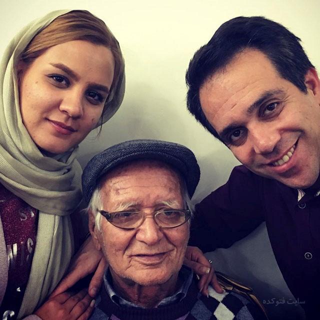 عکس های امیر کربلایی زاده در کنار همسر و مرحوم پرش