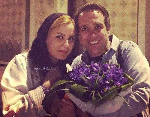 عکس امیر کربلایی زاده  و همسرش پوران مرادی + بیوگرافی