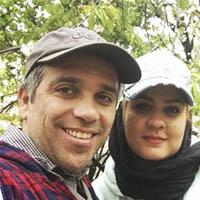 عکس و بیوگرافی امیر کربلایی زاده و همسرش پوران مرادی