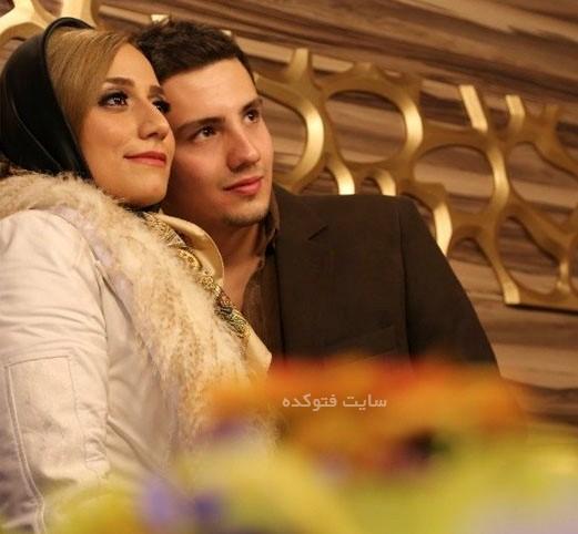 کاظمی و همسرش مهتاب محسنی + بیوگرافی