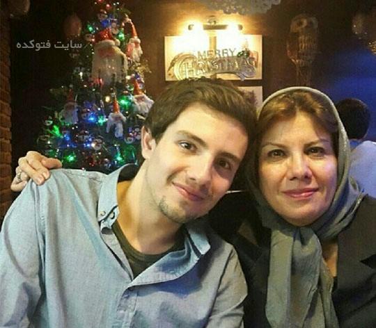 عکس امیر کاظمی و مادر آلمانی اش + زندگینامه