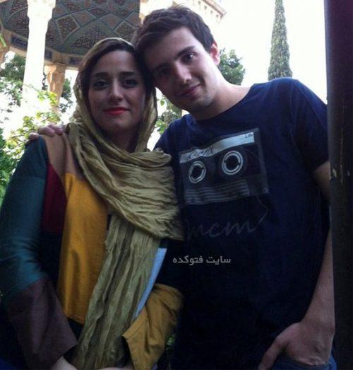 عکس امیر کاظمی و همسرش مهتاب محسنی + بیوگرافی