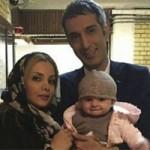 بیوگرافی امیرمهدی ژوله و همسرش + عکس دخترش گندم