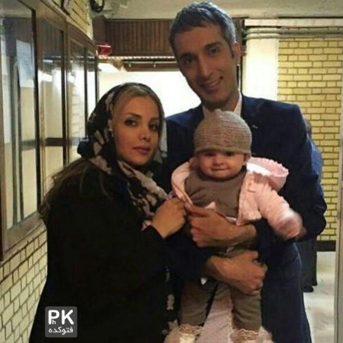 عکس امیرمهدی ژوله و همسرش + زندگینامه