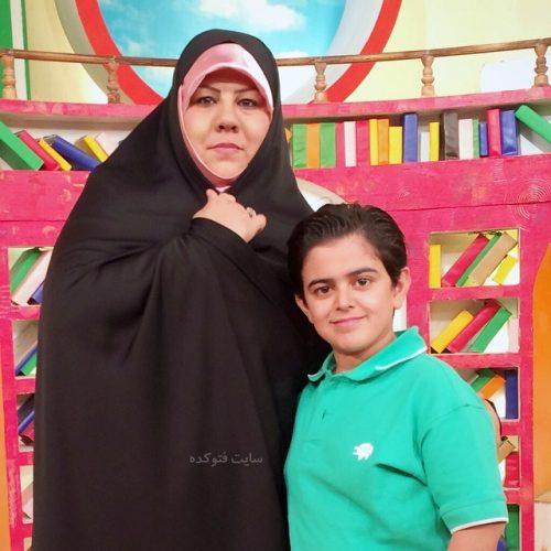 عکس امیرمحمد متقیان و مادرش + بیوگرافی کامل