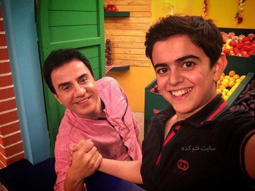 عکس امیرمحمد متقیان و عمو پورنگ + زندگینامه شخصی کامل