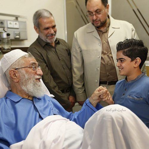 عکس امیرمحمد متقیان در کنار رهبری + بیوگرافی و عکس خانوادگی