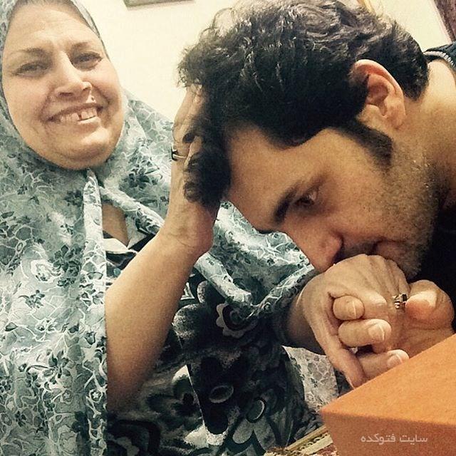 عکس امیرمحمد زند و مادرش