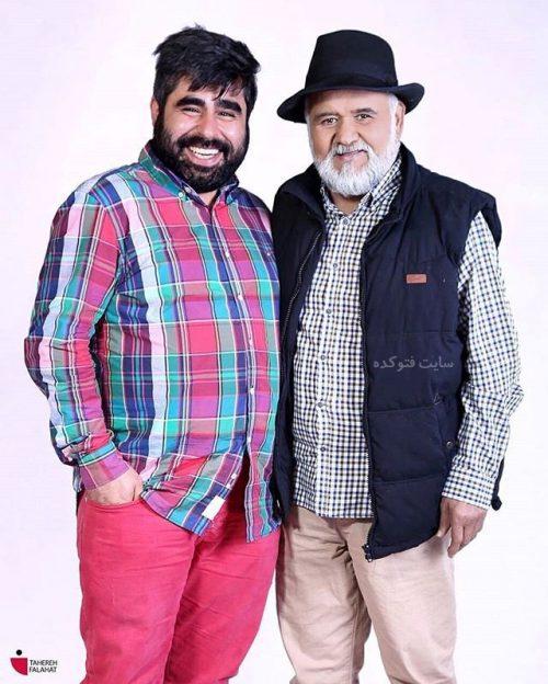 عکس امیر نوری و اکبر عبدی + بیوگرافی کامل