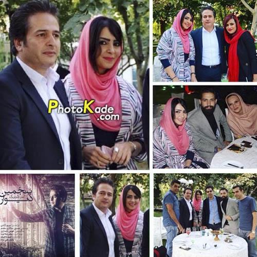 امیر تاجیک و همسرش + داستان زندگی