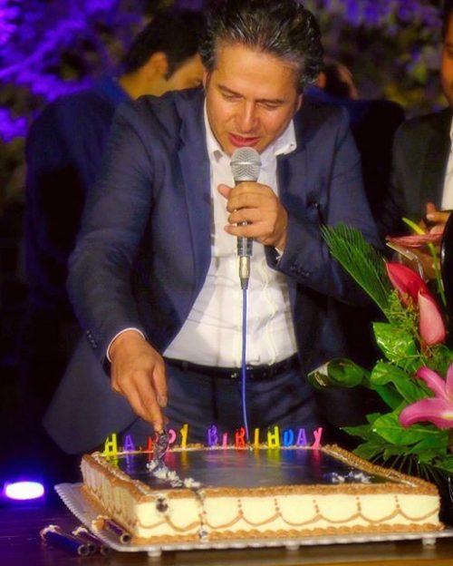 عکس تولد امیر تاجیک خواننده پاپ + زندگی خصوصی و شخی