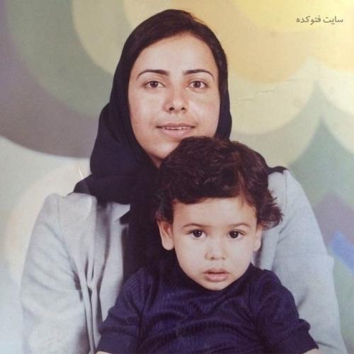 عکس کودکی عمار تفتی و مادرش + زندگی شخصی