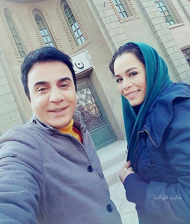 عکس ازدواج عمو پورنگ با دختر شریفی نیا