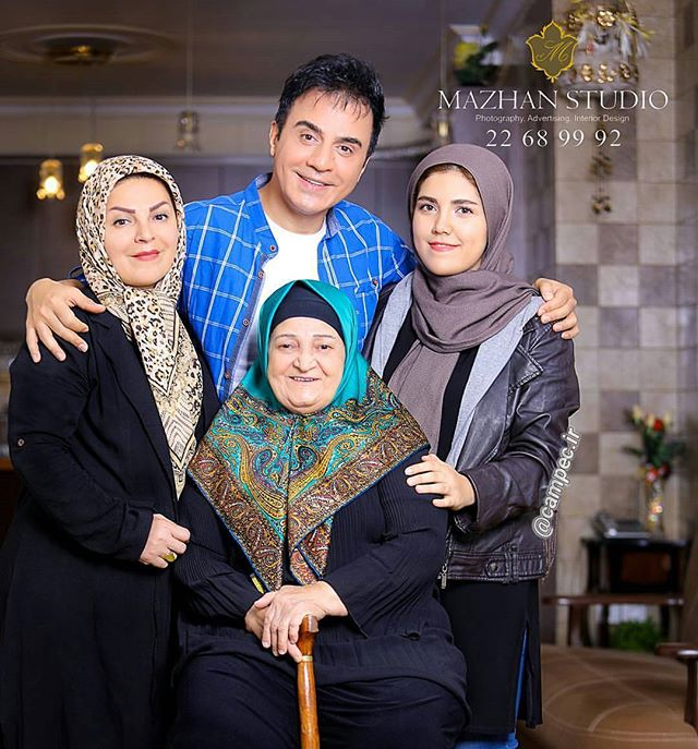 عکس خانوادگی عمو پورنگ