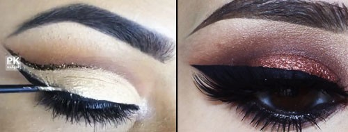 آموزش آرایش چشم با مدل های زیبا