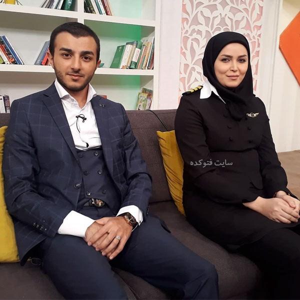 آناهیتا نیکوکار و همسرش دکتر اسلامی + زندگینامه