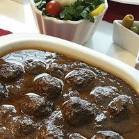 غذای انار آویج با طرز تهیه ساده و غذای لذیذ گیلانی