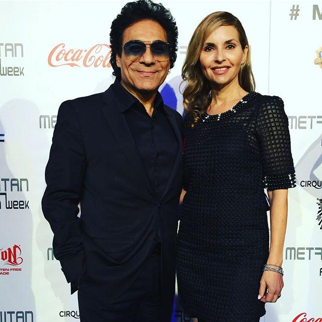 عکس اندی و همسرش شینی ریگزبی