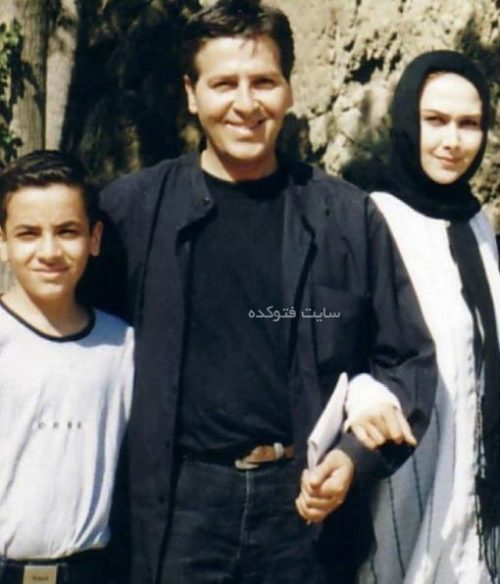 آنا نعمتی در کنار همسر سابق خود ابوالفضل پورعرب