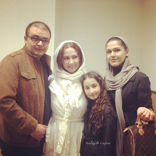 عکس آنا نعمتی در کنار خواهر و برادرش + دخترش رایکا