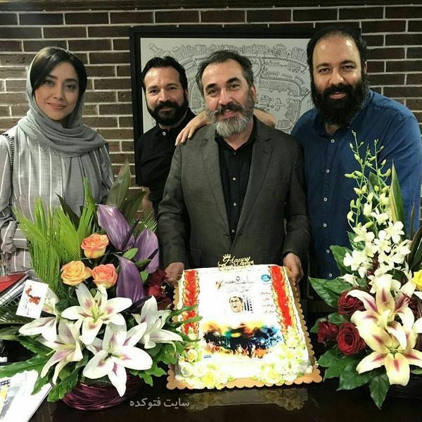 عکس بهاره کیان افشار در جشن تولد Siamak Ansari