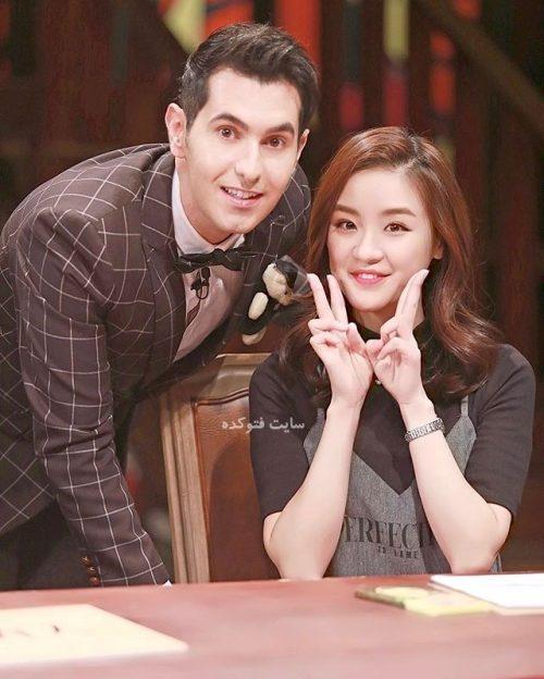 عکس آرش و همکارش در شبکه چینی